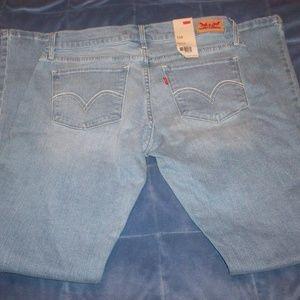 Juniors Levi's 524 Bootcut Jeans Size 9 M 30 NWT